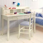 small white desk