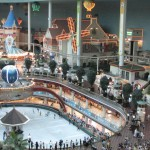 Indoor amusement park, convenient hot summer and cold winter.